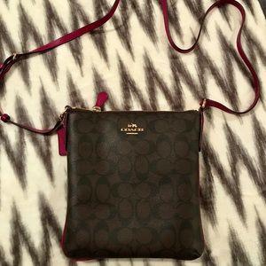 COACH, crossbody purse